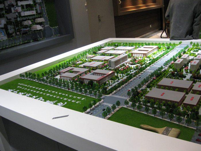 校园规划模具6