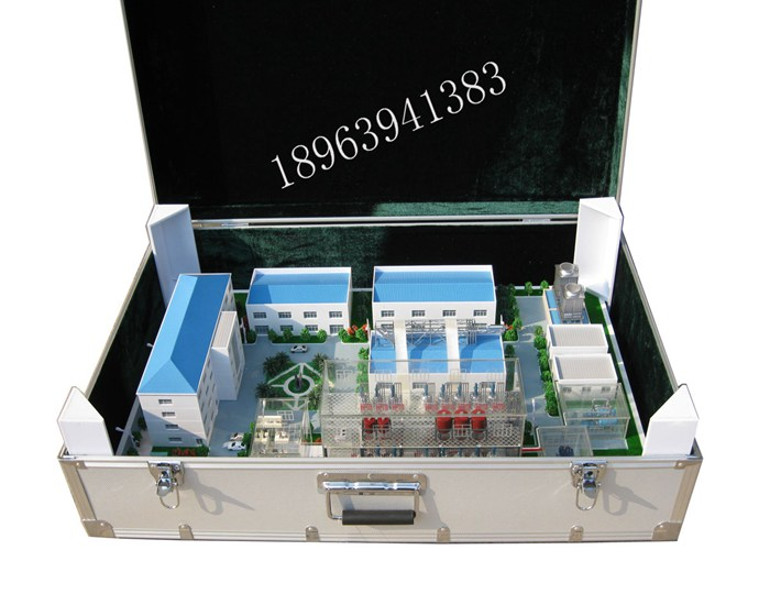 袖珍工廠模型