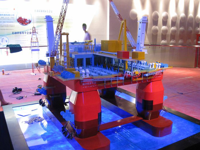 海洋钻井平台