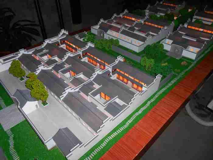 古建筑模型10