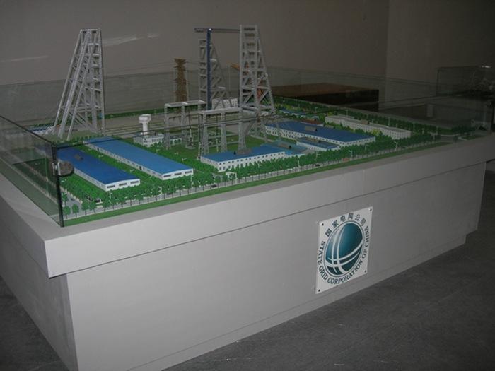 水利發電電力模型11