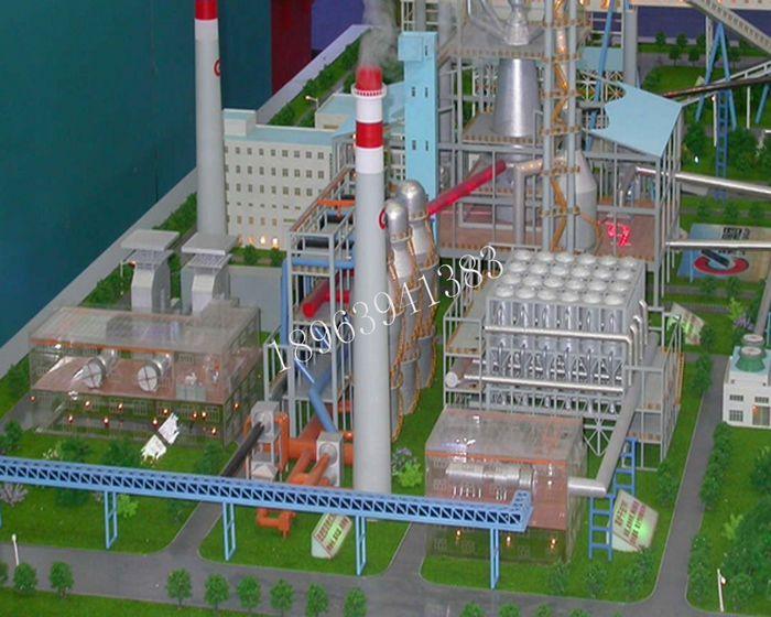 鋼鐵廠模型