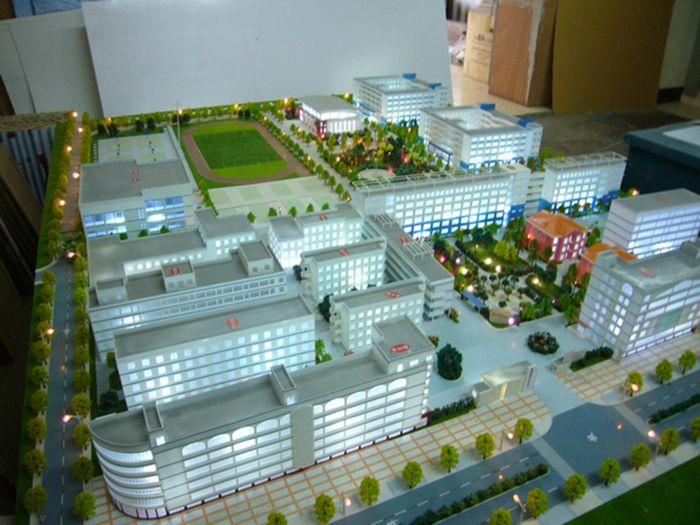 校园规划模具11