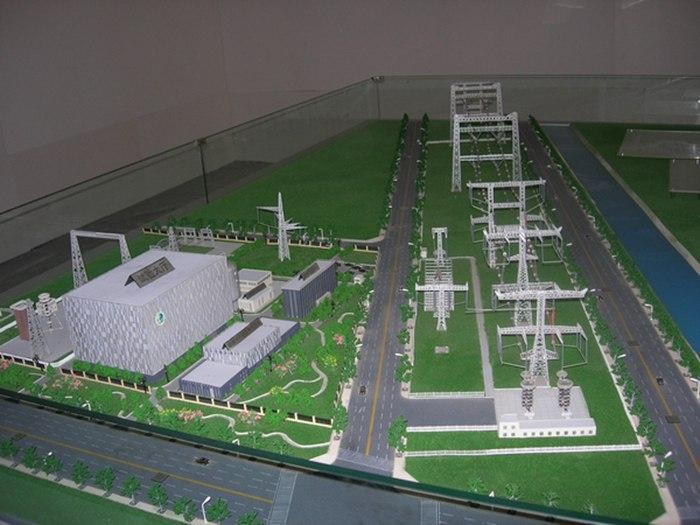 水利發電電力模型10