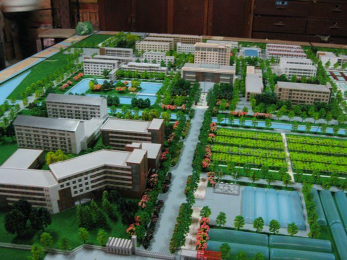 校园规划模具8