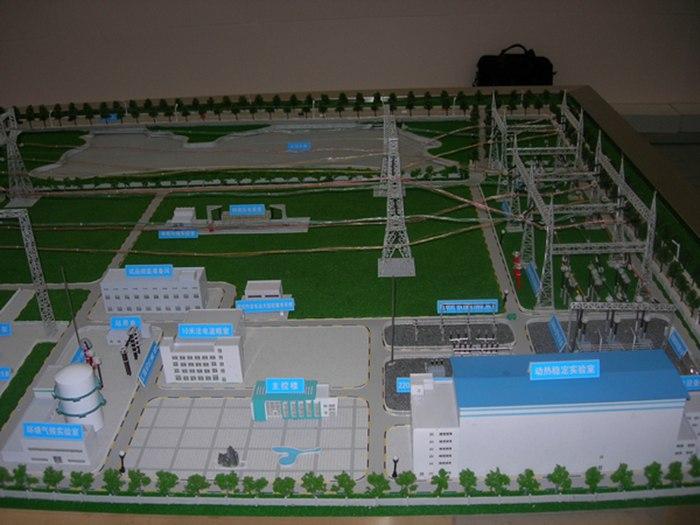 水利發電電力模型