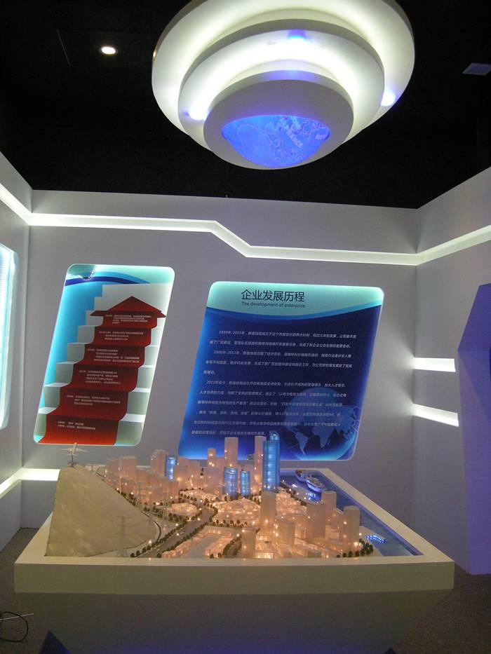 無錫群星電纜展廳模型2