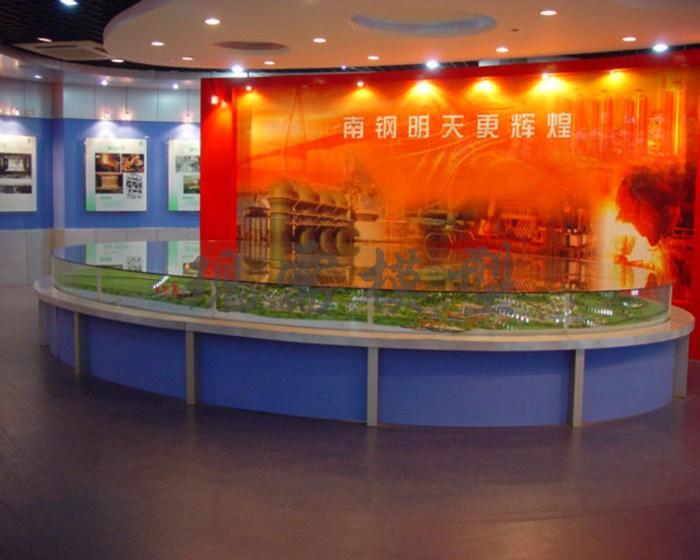 南鋼展廳模型