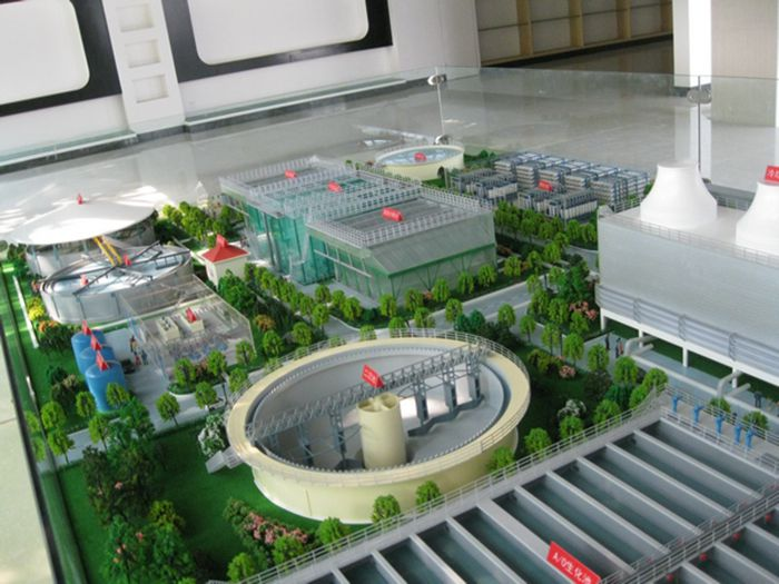 模型制作中綠化環境的風格體現